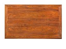 Desktop van hout Huanghuali stock afbeelding