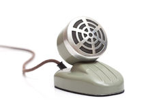 Desktop vintage microphone Stock Photography