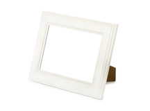 Desktop white frame Royalty Free Stock Photos