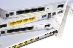 Desktop wireless DSL modems Royalty Free Stock Images