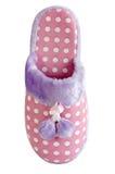 Deslizador cor-de-rosa macio Home Fotos de Stock Royalty Free