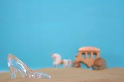 Deslizador de vidro Imagem de Stock Royalty Free