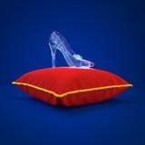 Deslizador do cristal de Cinderella fotografia de stock