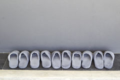 Deslizadores de casa Imagem de Stock