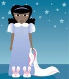 Deslizadores do coelho e Blankie 2 Imagem de Stock Royalty Free