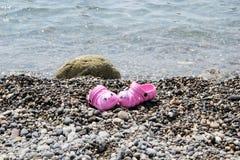 Deslizadores en la playa Fotos de archivo libres de regalías