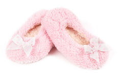 Deslizadores macios cor-de-rosa Imagem de Stock