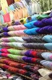 Deslizadores marroquinos de couro Imagem de Stock Royalty Free