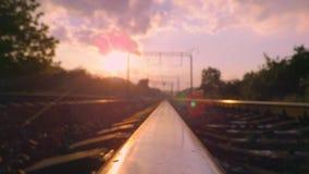 Deslizamento no trilho da estrada de ferro filme