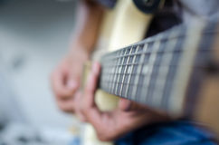 Deslize a guitarra Fotografia de Stock