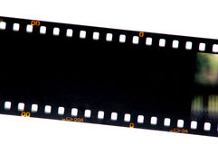 Deslize a película fotografia de stock