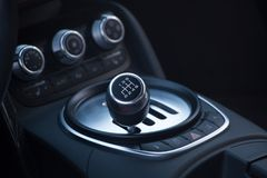 Deslocador de Audi R8 Fotos de Stock Royalty Free
