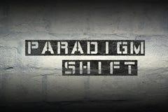 Deslocamento GR do paradigma Imagens de Stock Royalty Free