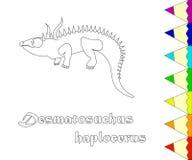 098_desmatosuchus Fotografia Stock Libera da Diritti