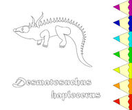 098_desmatosuchus Lizenzfreie Stockfotografie