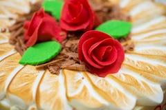 Desmoche de la torta fotografía de archivo libre de regalías