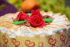 Desmoche de la torta fotografía de archivo