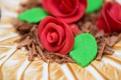 Desmoche de la torta fotos de archivo