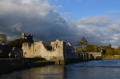 Desmond Castle Ruins in County Limerick Ireland Stock Photo