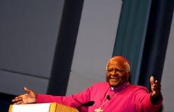 Desmond Tutu parla a Minneapolis Immagini Stock Libere da Diritti