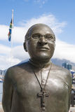 Desmond Tutu statua fotografia royalty free