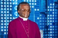 Desmond Tutu wosku postać zdjęcie stock
