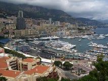 Desmontar el asiento de Grand Prix en Mónaco Imágenes de archivo libres de regalías