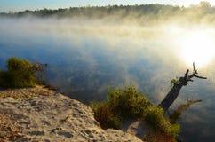 Desna il fiume Fotografie Stock