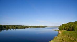 Desna river landscape Stock Photography