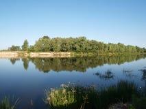 Desna river in Ukraine Stock Photography