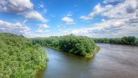 Desna. Ukraine, nature, river, water stock images