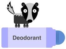Desodorierendes Mittel lizenzfreie abbildung