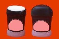 Desodorierendes Mittel für Männer Schönheitskörperpflege-Badezimmertoilettenartikel für Männer Stockfotos