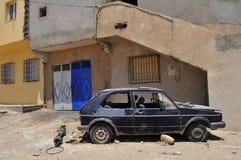 Desolación y ruinas Foto de archivo libre de regalías
