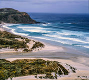 Desolate coast of the South Island, New Zealand Stock Image