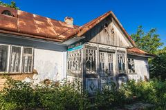 House in Ukraine Royalty Free Stock Photography