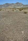 Desolate Death Valley landscape. A desolate landscape in Death Valley National Park, California Stock Photo