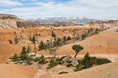 Desolate desert hills at Bryce Canyon Stock Photo