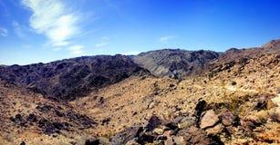 Desolate desert landscape of Joshua Tree National Park Stock Photography