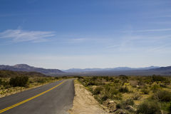 Desolate Desert Road 01 Royalty Free Stock Image