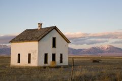 Desolate Home Royalty Free Stock Photography