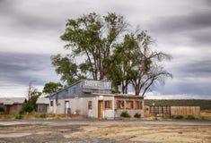 Desolate la impulsión en motel Imagenes de archivo