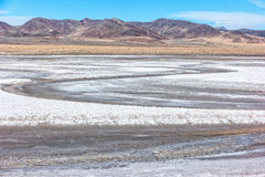 The desolate playa along Highway 50 Royalty Free Stock Photography