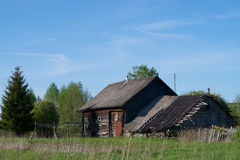 Desolate rural house Stock Photography