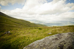 Desolate scottish Mountain top Royalty Free Stock Images