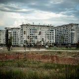 Desolate suburb landscape Stock Images