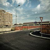Desolate suburb landscape Royalty Free Stock Photography