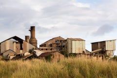Desolate sugar mill near Koloa, Kauai Royalty Free Stock Images