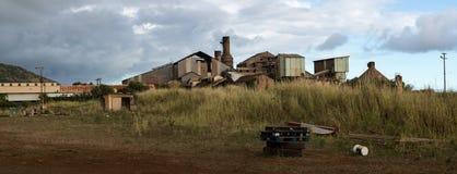 Desolate sugar mill near Koloa, Kauai Stock Image