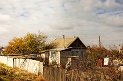 Desolate village Royalty Free Stock Image